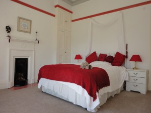 Red Room at Bankfield House
